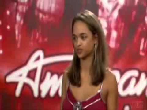 Beautiful Indian girl in American idol. A must see !