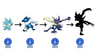"""Ash-Wolverinja"" - Greninja Evolution as Gen 8 Starter | Pokemon Gen 8 Fanart #3"