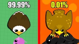 Mope.io Road to GOLDEN EAGLE *99.99% impossible* THE DEVELOPERS HATE ME! (RAGE)