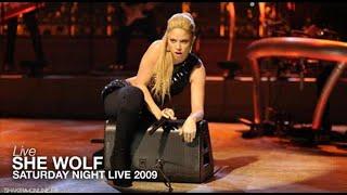 Shakira ~ She Wolf [Saturday Night Live 2009] HD