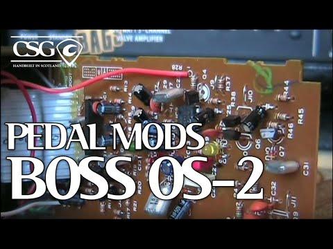 Boss OS 2 Pedal Mods