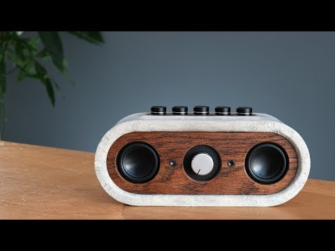 Build your own Concrete Bluetooth Speaker how to