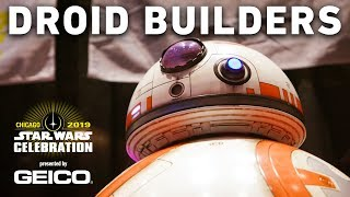 Unbelievable Droid Building at Star Wars Celebration | The Star Wars Show Extra