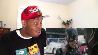 Captain America: Civil War TV Spot #5 HD Black Panther vs Cap REACTION!!!