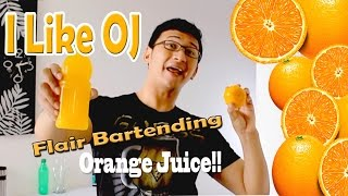 New - I LIKE OJ (orange juice) PIKOTARO PARODY REMIX and RECIPES