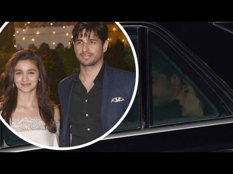 Xxx Mp4 Alia Bhatt Sidharth Malhotra In Same Car Ronnie Screwvala Daughter Trishya Wedding Reception 3gp Sex