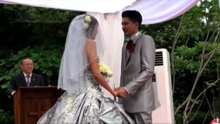 Sharena Gunawan-Ryan Delon Menangis di Depan Altar