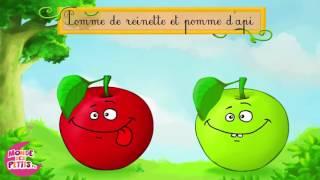 Pomme de reinette et pomme d'api 1- le monde des titounis