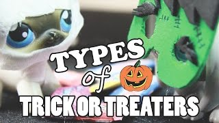 LPS - 10 Types of Trick or Treaters!