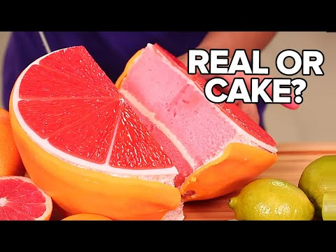 4 Citrus Fruits CAKES How To Cake It
