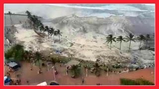 RAW FOOTAGE: THE WAVES SHOULDN'T DO THAT !!!!! (Durban South Africa) PART 3