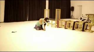 Plamen Lybenov showcasing in Derida Dance Center