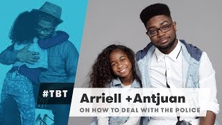 Arriell & Antjuan from Black Parents Explain How to Deal with the Police   #TBT   Cut