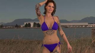 Wannabe Playboy model Marianna dances in her bikini