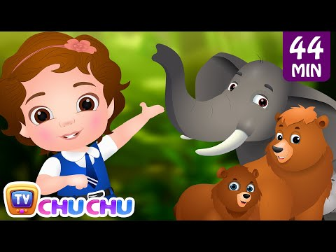 Xxx Mp4 Going To The Forest Wild Animals For Kids Original Learning Songs Nursery Rhymes By ChuChu TV 3gp Sex