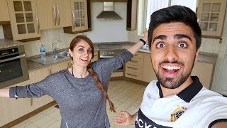 OUR NEW HOUSE SURPRISE !!!