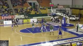 Highlights Borja Arévalo, 24 pts, 10 rebs y 4 asis vs COB Ourense