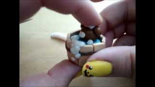 Polymer Clay Tutorial: How to Make a Rilakkuma in a Hot Tub