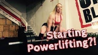 Best tips for beginning Powerlifting