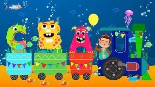 ABCD Alphabet Train song - Animation Alphabet ABC Train Songs for children 2018[Nursery Rhymes] 4k