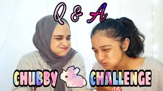 Q&A Chubby Bunny Challenge | hilarious (Sister edition)  😂