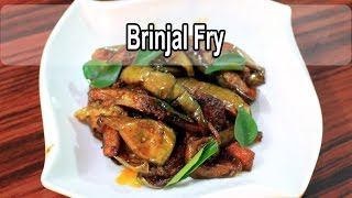 Brinjal Fry | Kathirikai varuval | கத்தரிக்காய் வறுவல் | Samayal kurippu