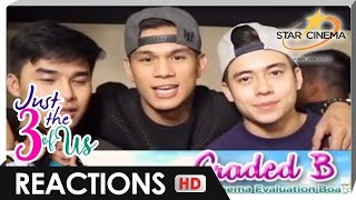 Reactions | Hashtags, GirlTrends | 'Just The 3 Of Us'