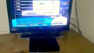 Tatasky+HD video on demand. How To set up.