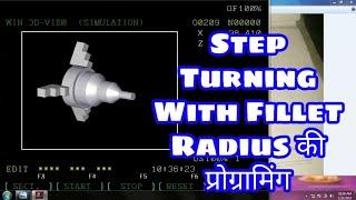 CNC taper ka program banaye in hindi | Taper Turning Part4
