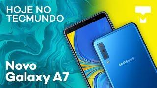 Galaxy A7, GoPro Hero7, Facebook Dating, anúncios da LG, Motorola e Nokia e mais - Hoje no TecMundo