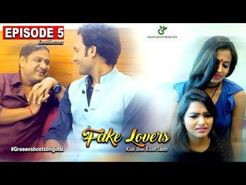 Xxx Mp4 Hindi Web Series 2017 FAKE LOVERS Episode 05 Doublecross Secret Of Wife 3gp Sex
