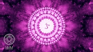 Calm Sleeping Meditation Music: Sleep Chakra Meditation Balancing Healing, Open Crown Chakra