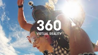Skydiving in 360 - Virtual Reality