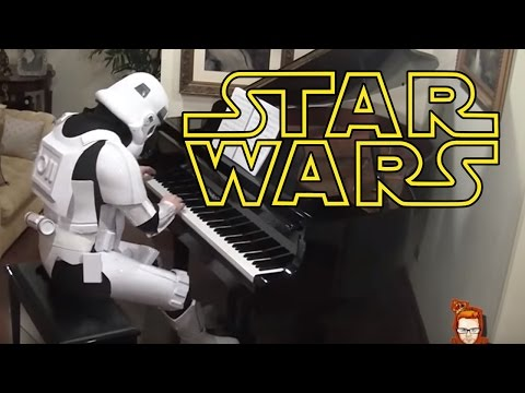 Star Wars Medley on Piano
