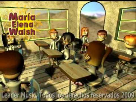 María Elena Walsh La Vaca Estudiosa