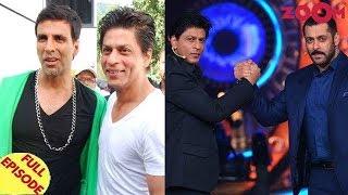 Shah Rukh Khan to never work with Akshay? | Shah Rukh & Salman Khan on KWK final episode? & more