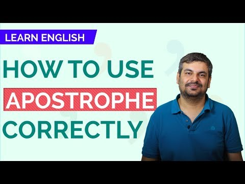 Xxx Mp4 LEARN ENGLISH How To Use Apostrophe Correctly 3gp Sex