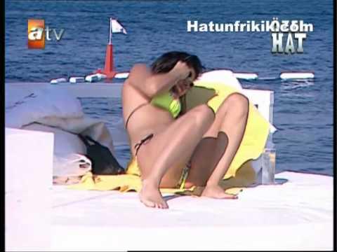 tuğba ekinci bikinili