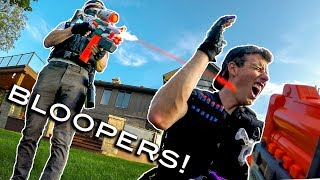 Nerf Warfare: Campaign | BLOOPERS!