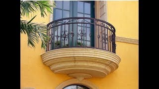 Amazing Wrought Iron Balconies With Architectural Appeal Create ideas 2017