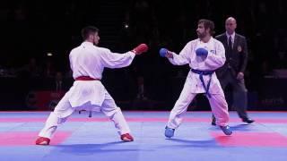 Rafael Aghayev vs Erman Eltemur. FINAL. European Karate Championships 2016