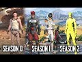 Rules Of Survival: Season 0 Vs Season 1 Vs Season 2