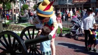 Meeting Pinocchio