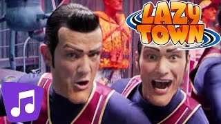 LazyTown   We Are Number One   Music Video   Kids Karaoke
