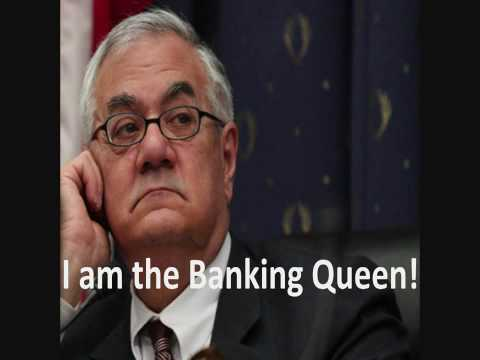 Barney Frank Banking Queen w caption