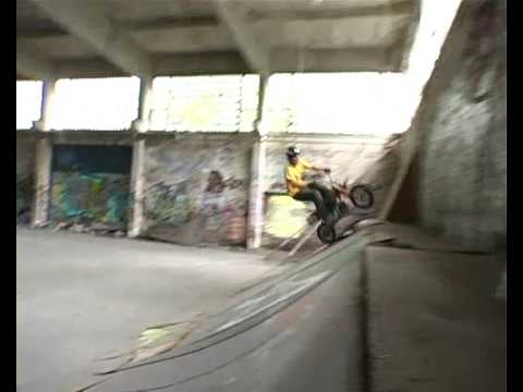 streetstyle crf50 minibike pitbike  trails wallride backflips sick libor podmol fmx  fiddy