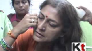 Rupa Ganguly attacked at Kakdwip