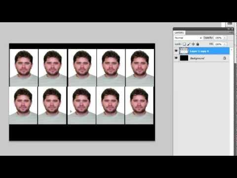 Как сделать фото в 3 на 4