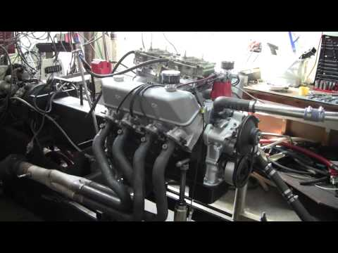 505 cube 427 Ford FE 694 horsepower on dyno