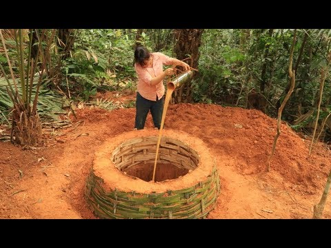 Xxx Mp4 Primitive Technology Digging A Well In Search For A Source Of Water To Survive In The Wilderness 2 3gp Sex